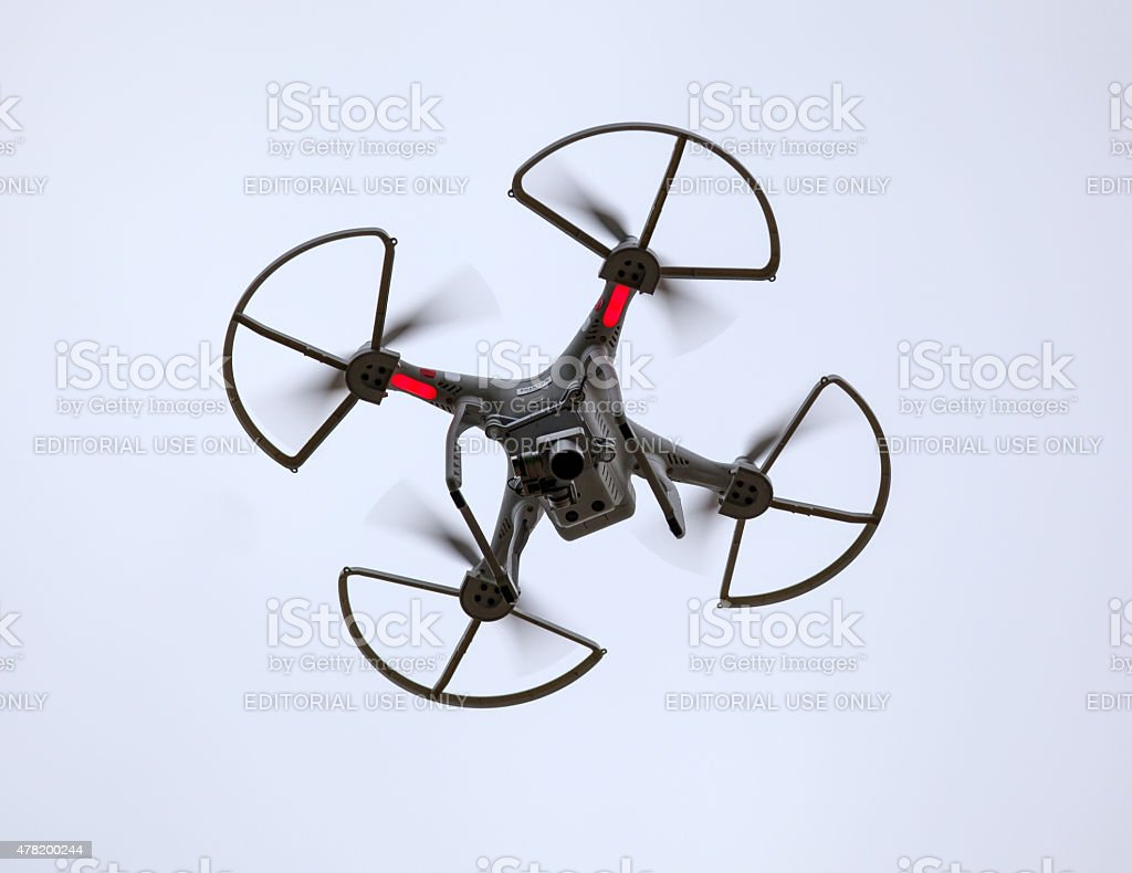 Phantom Drone from Below stock photo
