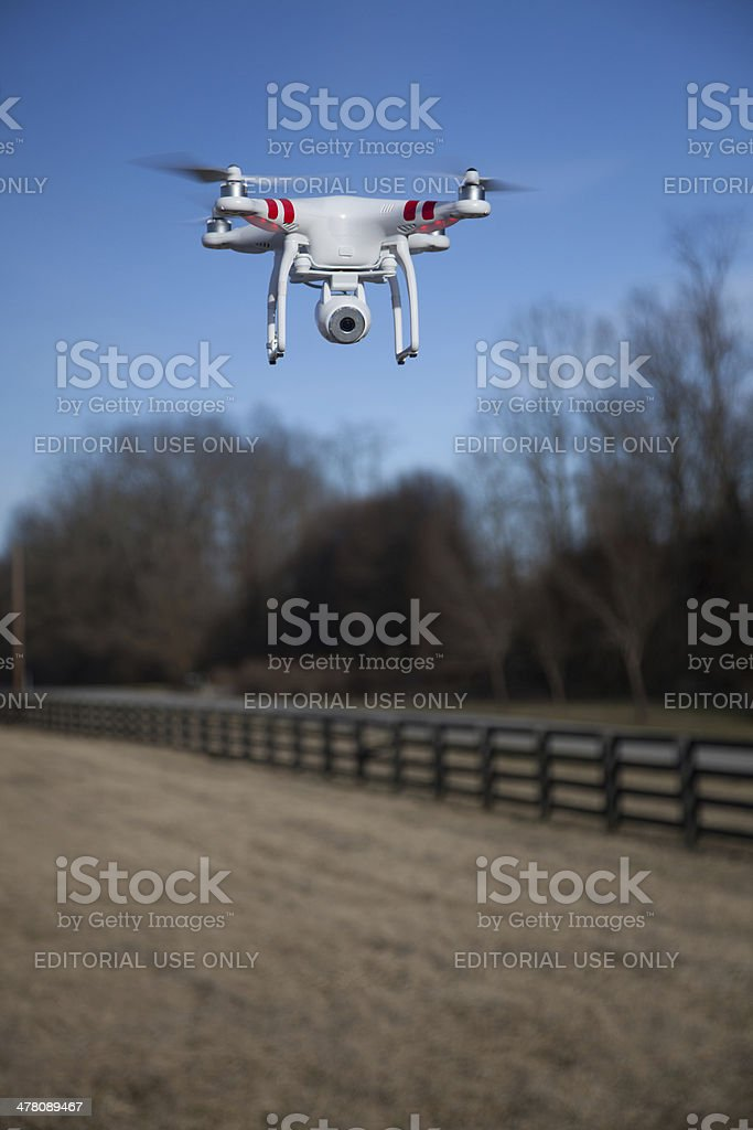 Phantom Drone stock photo