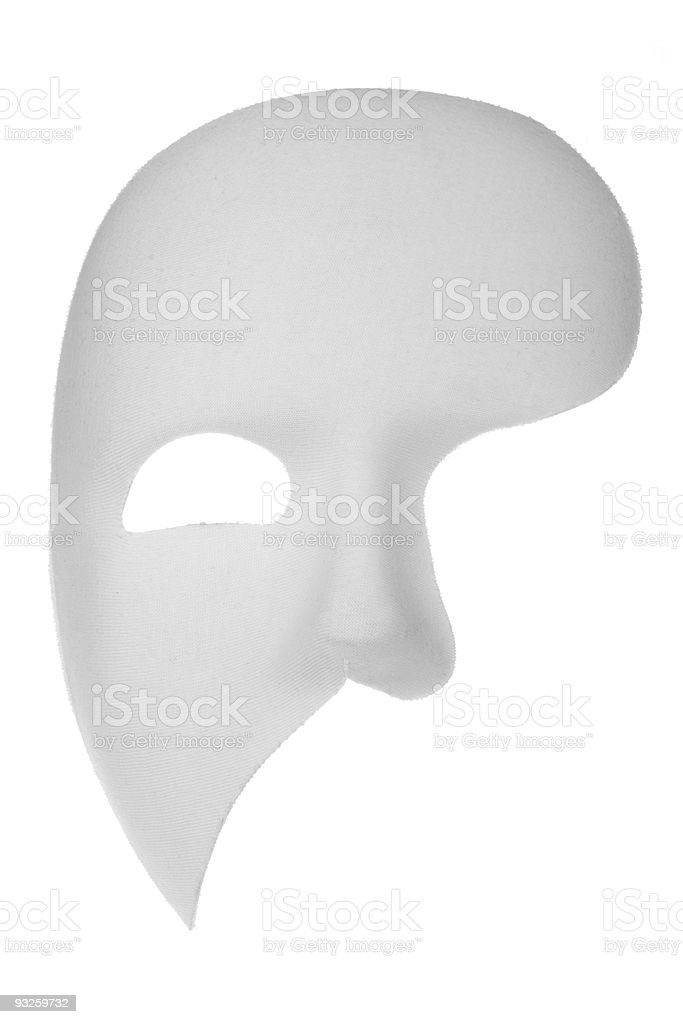Phantom of the Opera Mask stock photo