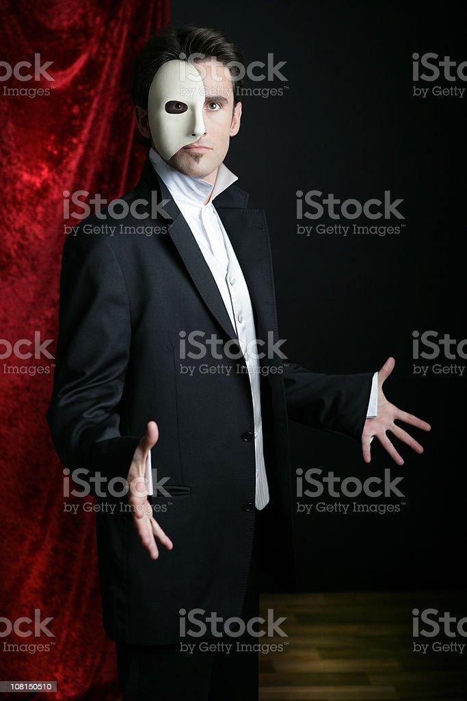 Phantom of the Opera royalty-free stock photo