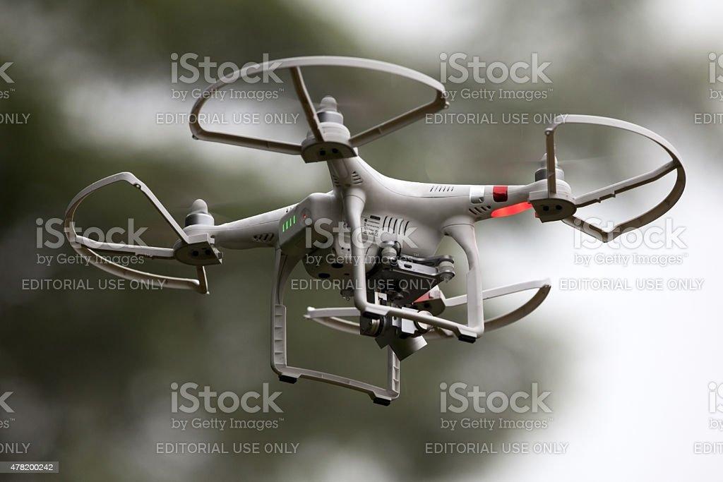 Phantom Quadcopter stock photo