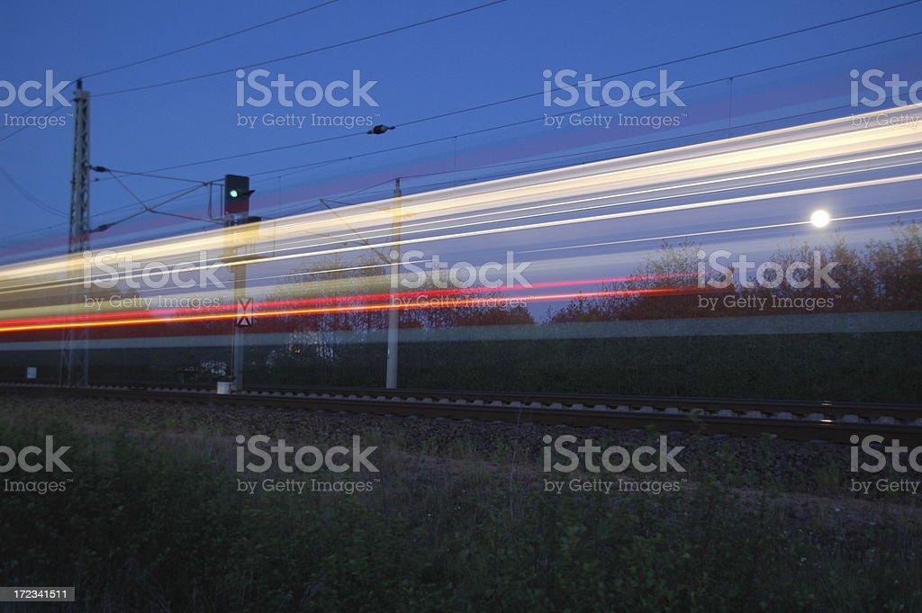 phantom train royalty-free stock photo