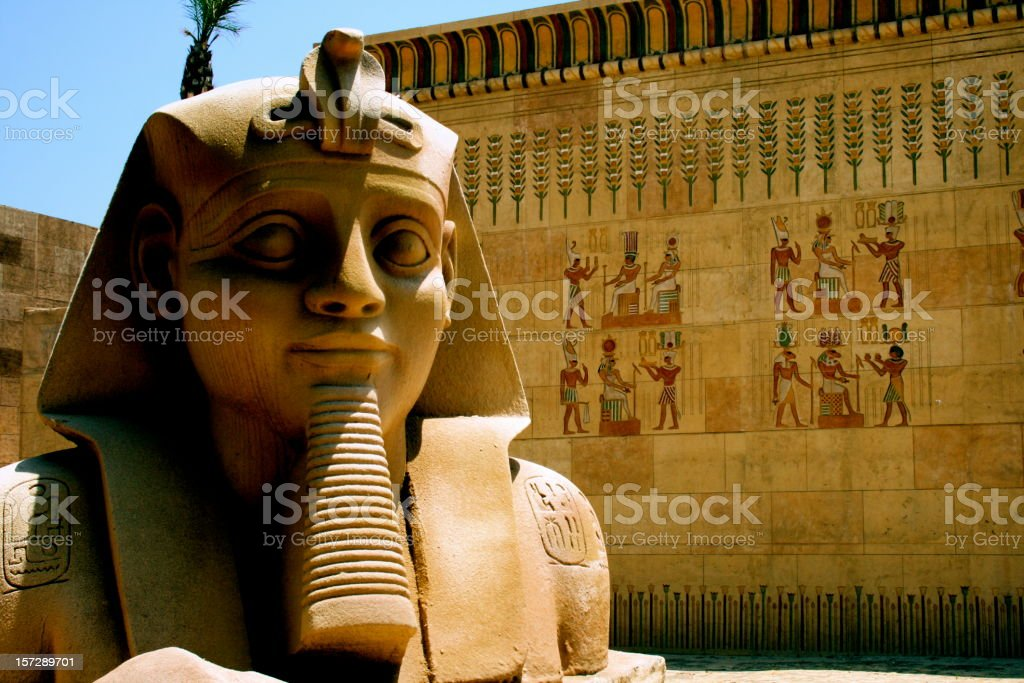 pharaoh stock photo