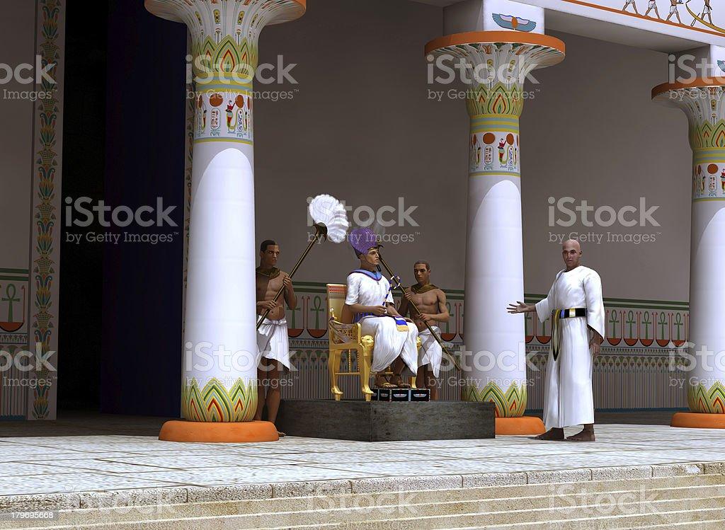 Pharaoh royalty-free stock photo
