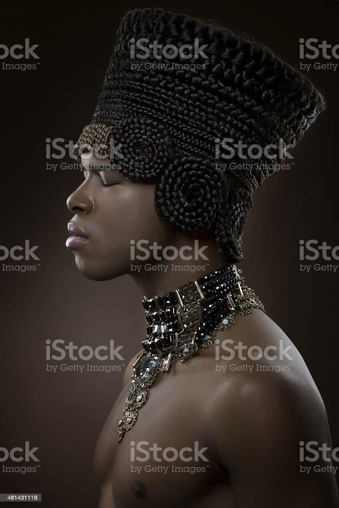 Pharaoh stock photo