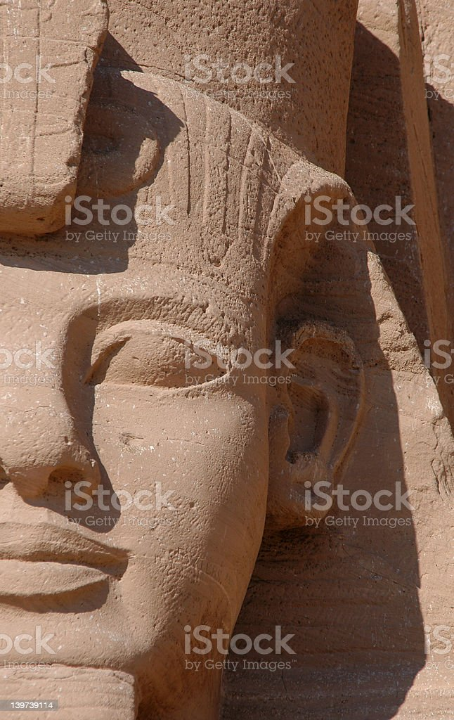 Pharaoh Ramses II royalty-free stock photo