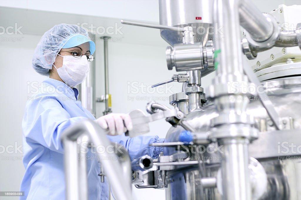 Pharmaceutical Lab Equipment stock photo