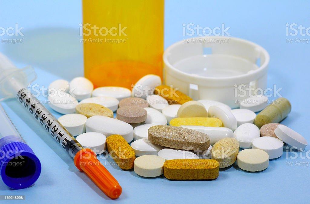 Pharmaceutical royalty-free stock photo