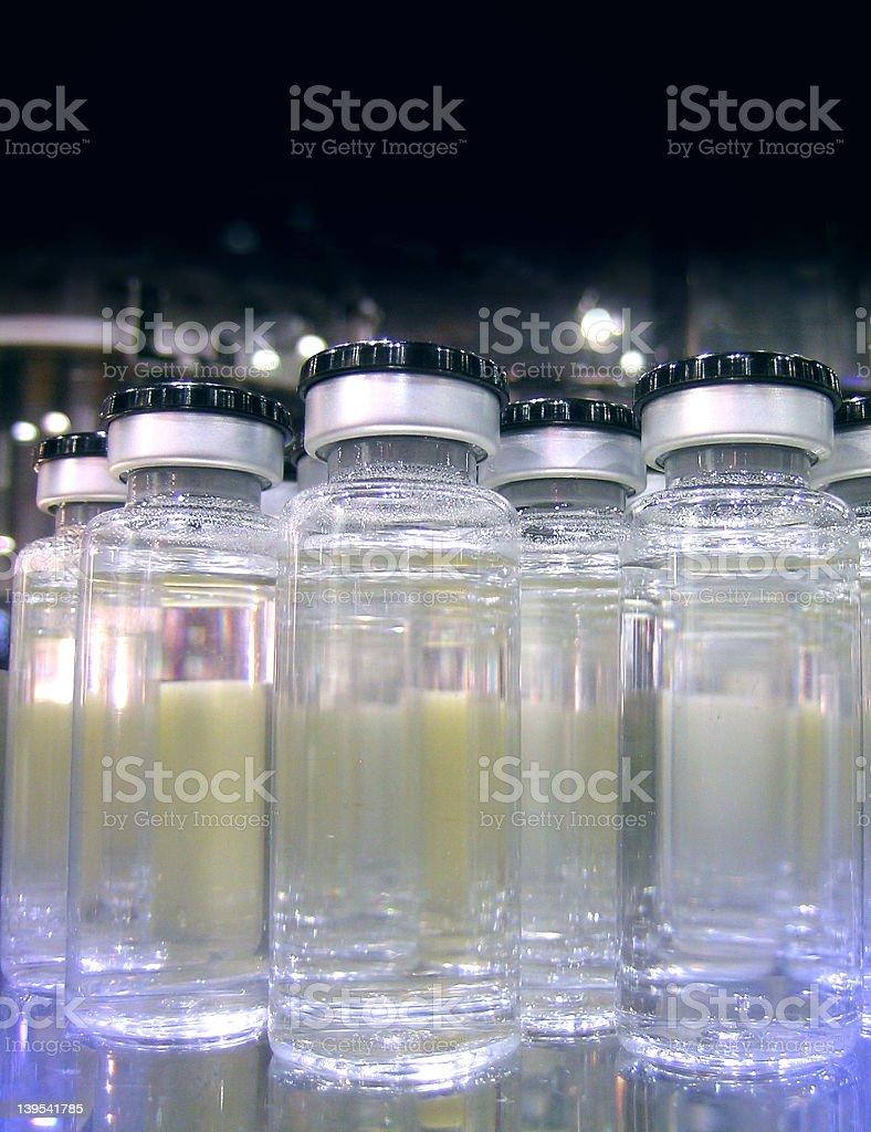 Pharmaceutical Vials stock photo