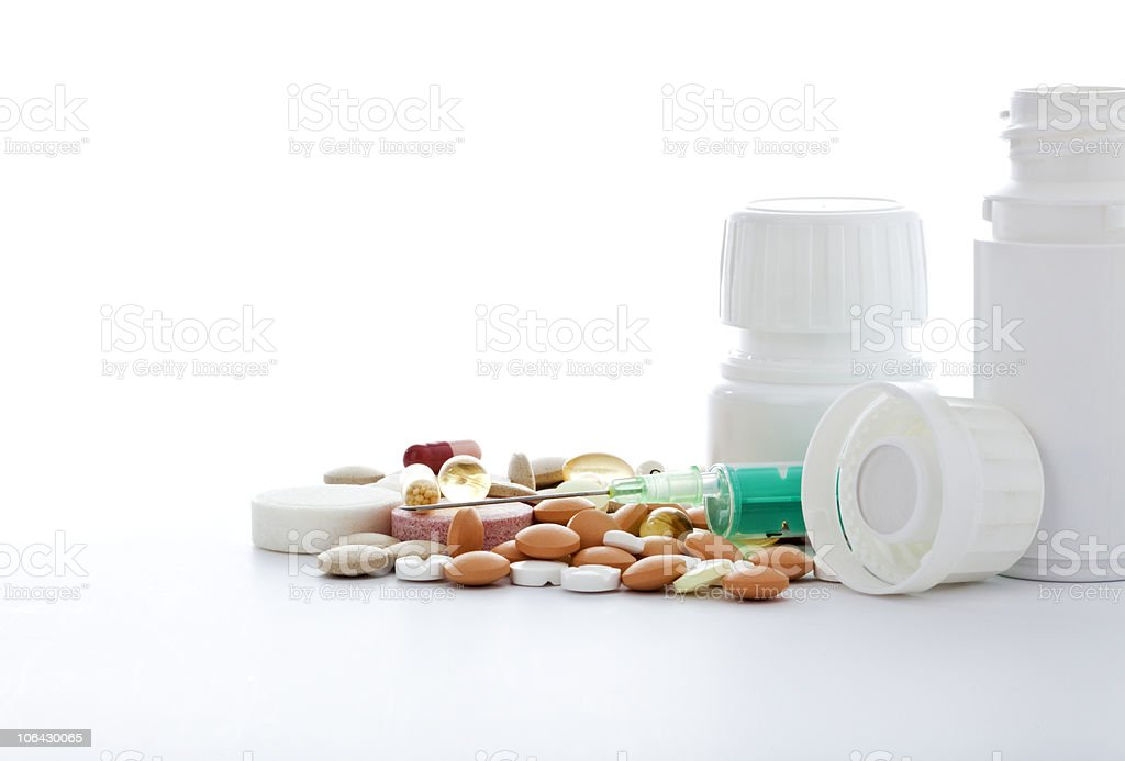 pharmaceuticals royalty-free stock photo
