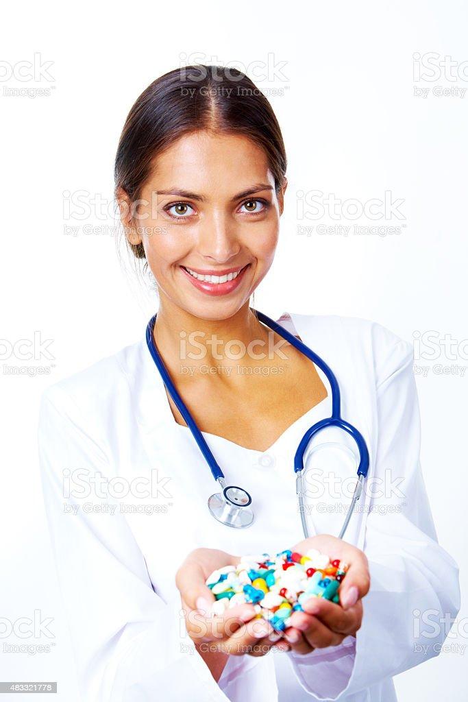 Pharmaceutist stock photo