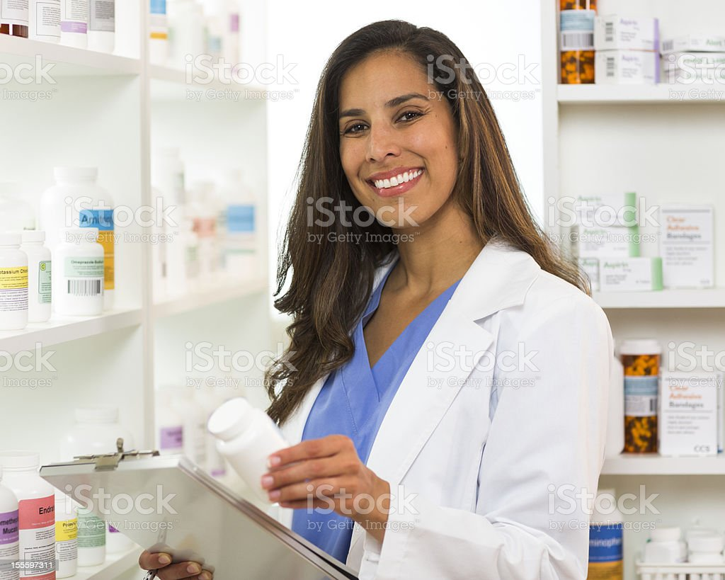 Pharmacist. royalty-free stock photo