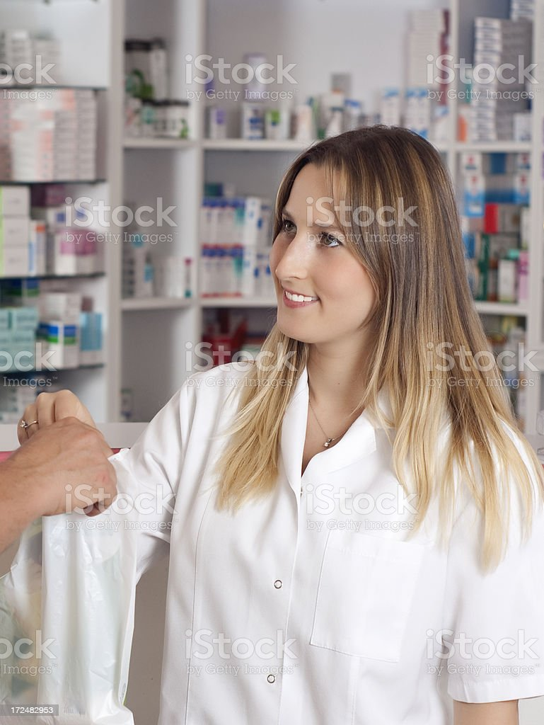 Pharmacist royalty-free stock photo