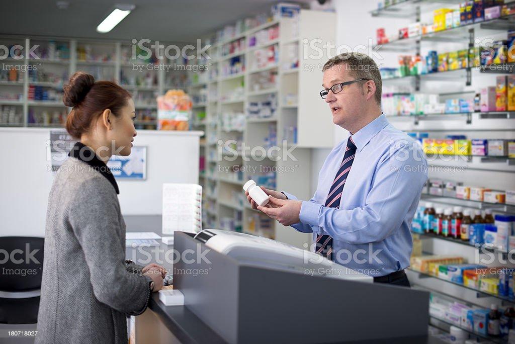 pharmacist royalty-free stock photo