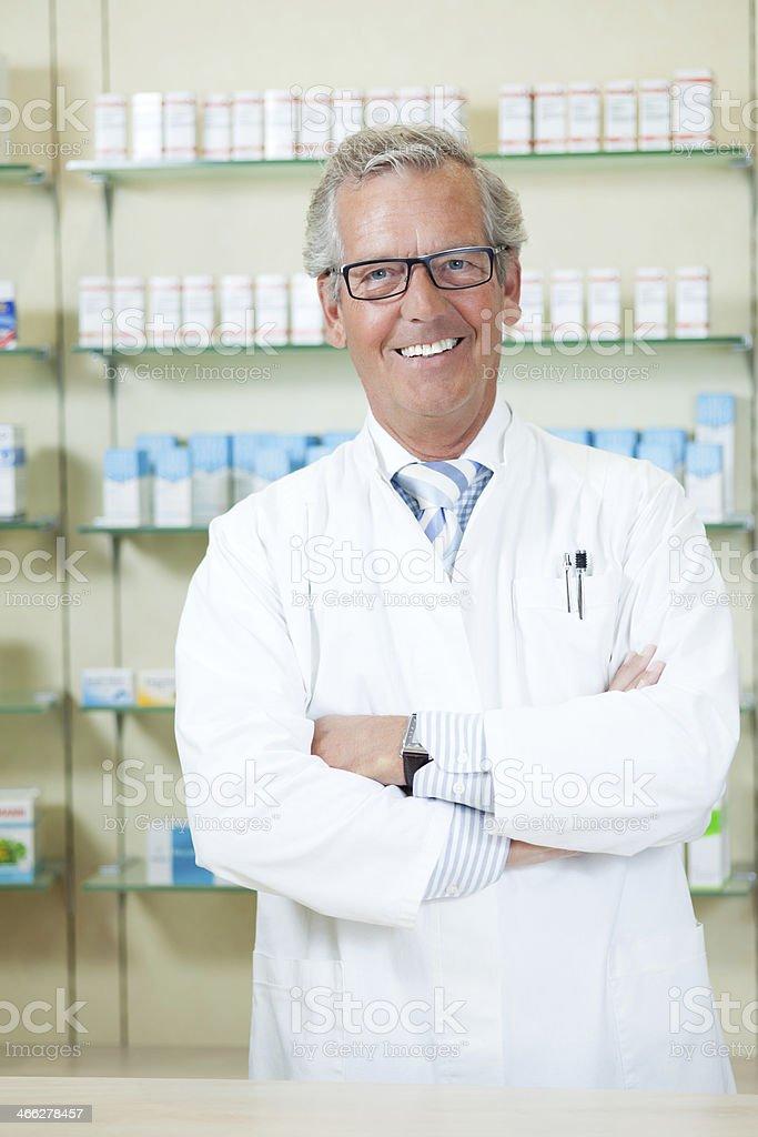 pharmacist stock photo