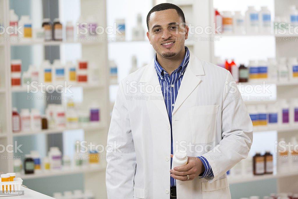 Pharmacists royalty-free stock photo
