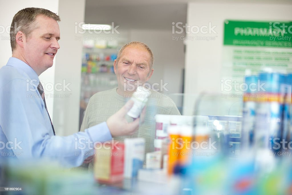 pharmacy advice royalty-free stock photo
