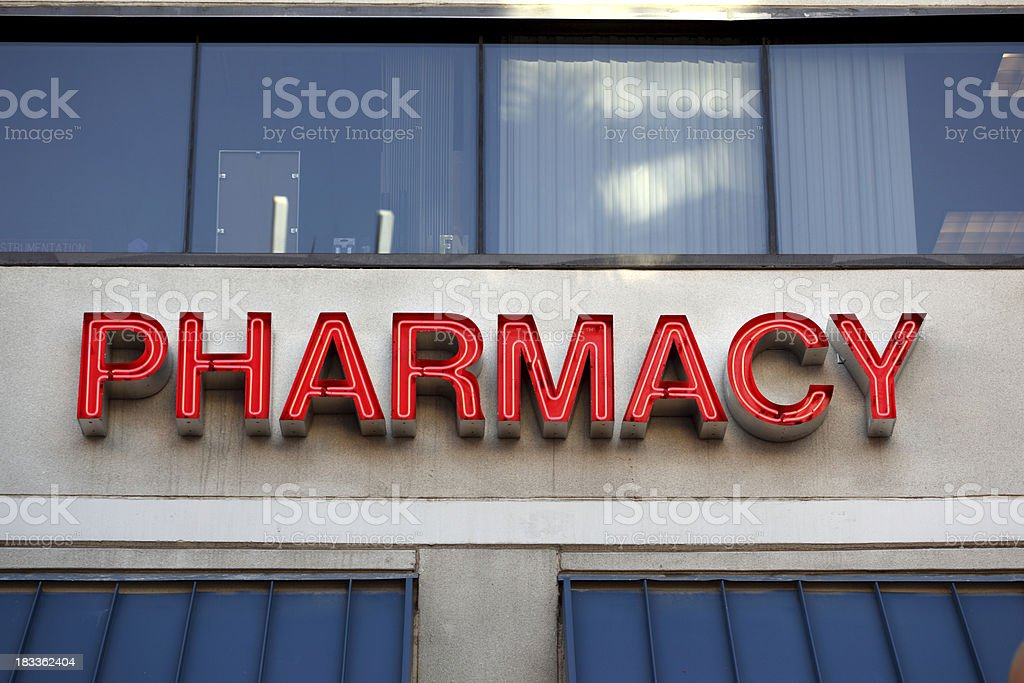 pharmacy stock photo