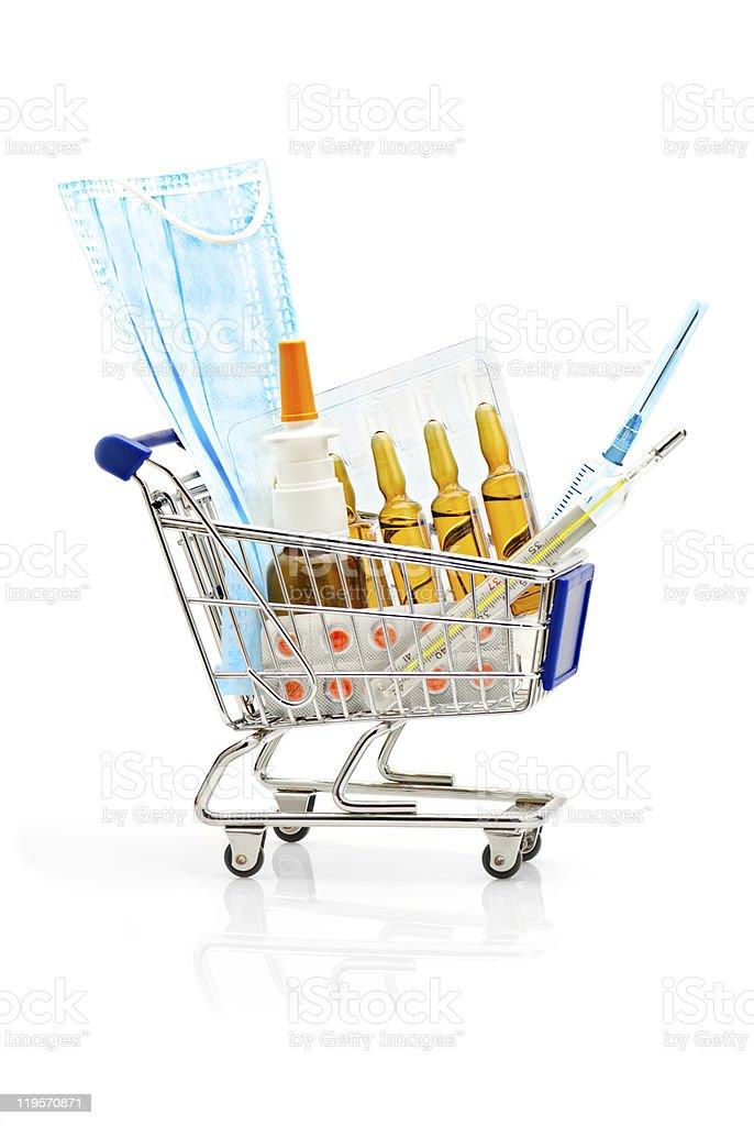 Pharmacy Shopping royalty-free stock photo