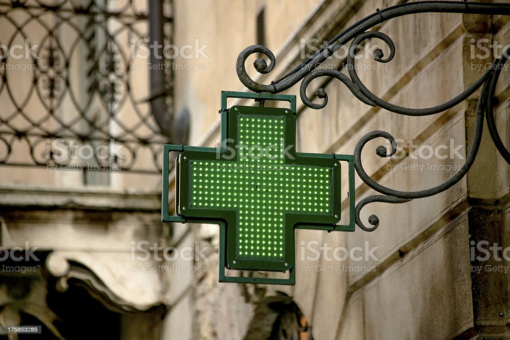 Pharmacy Sign stock photo