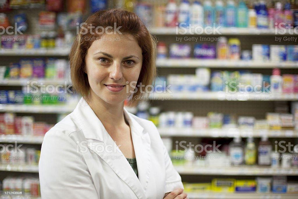 Pharmacy Tech royalty-free stock photo
