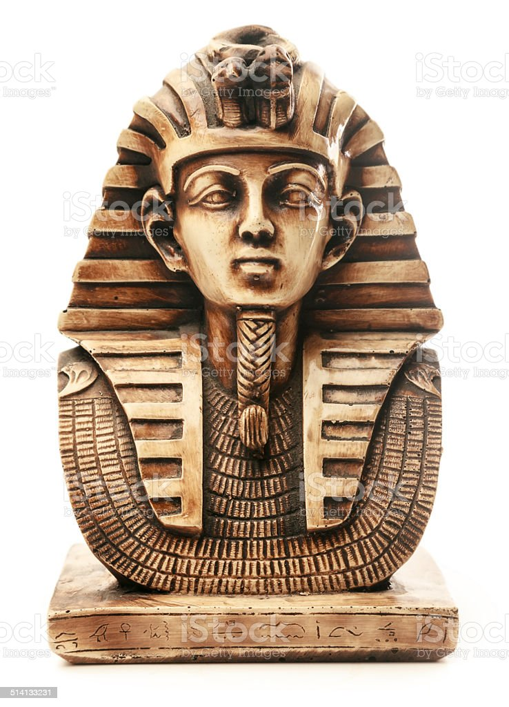 Pharoah mask stock photo