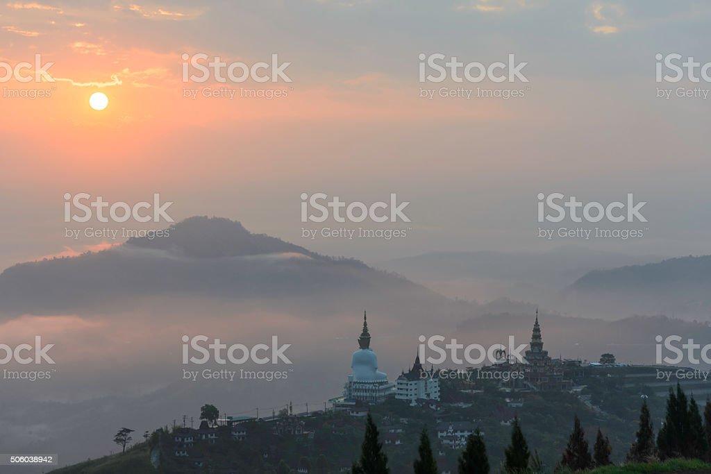 Phasorn Kaew Temple, Phetchabun, Thailand royalty-free stock photo