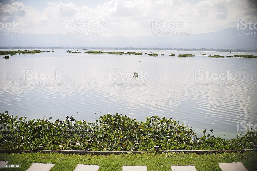 Phayao Lake. stock photo