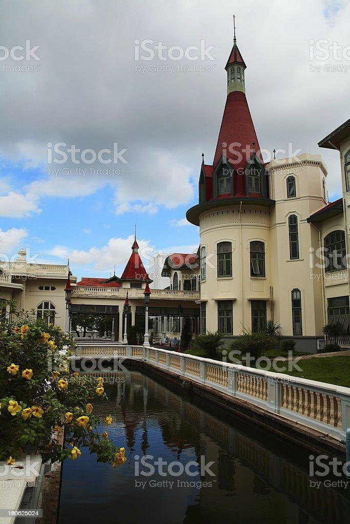 Phayathai palace in Bangkok royalty-free stock photo