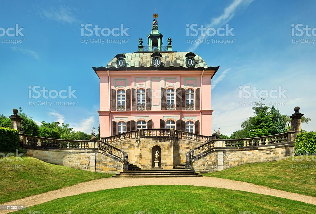 Pheasant Castle stock photo