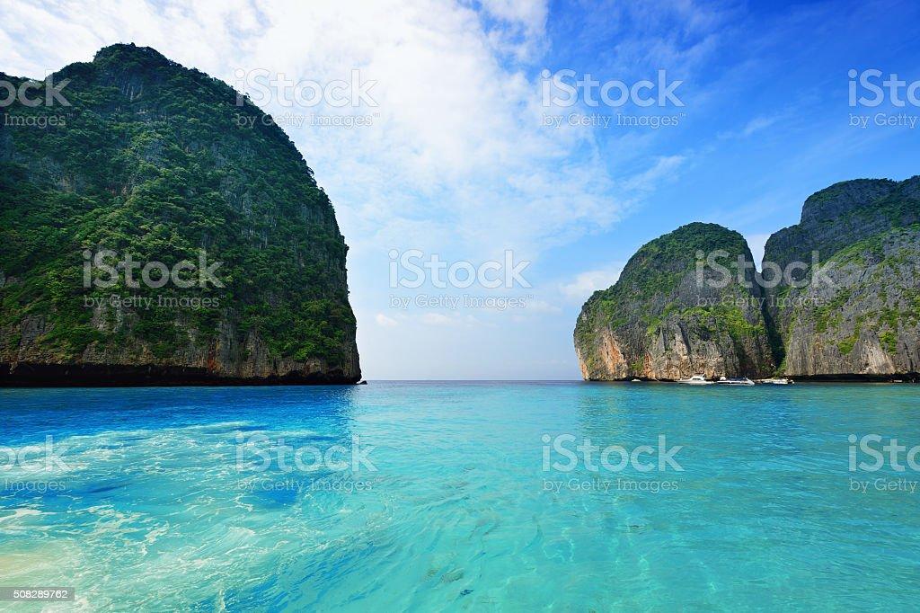 Phi Phi Islands, Thailand stock photo