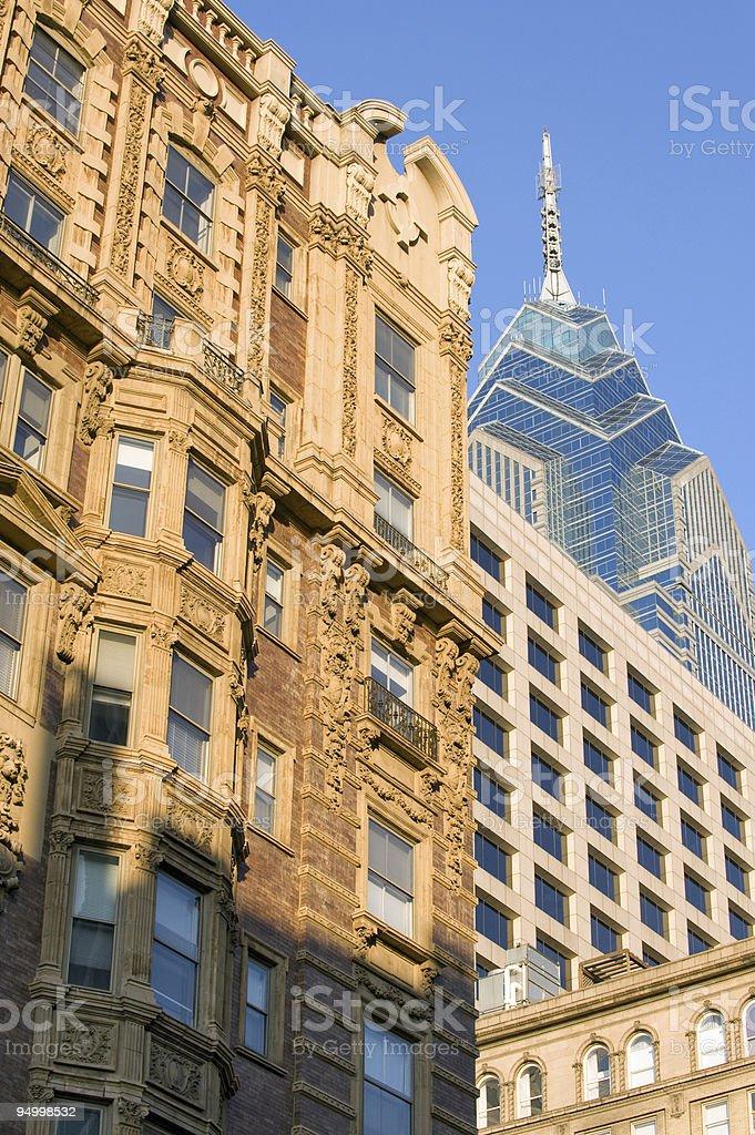 Philadelphia architecture royalty-free stock photo