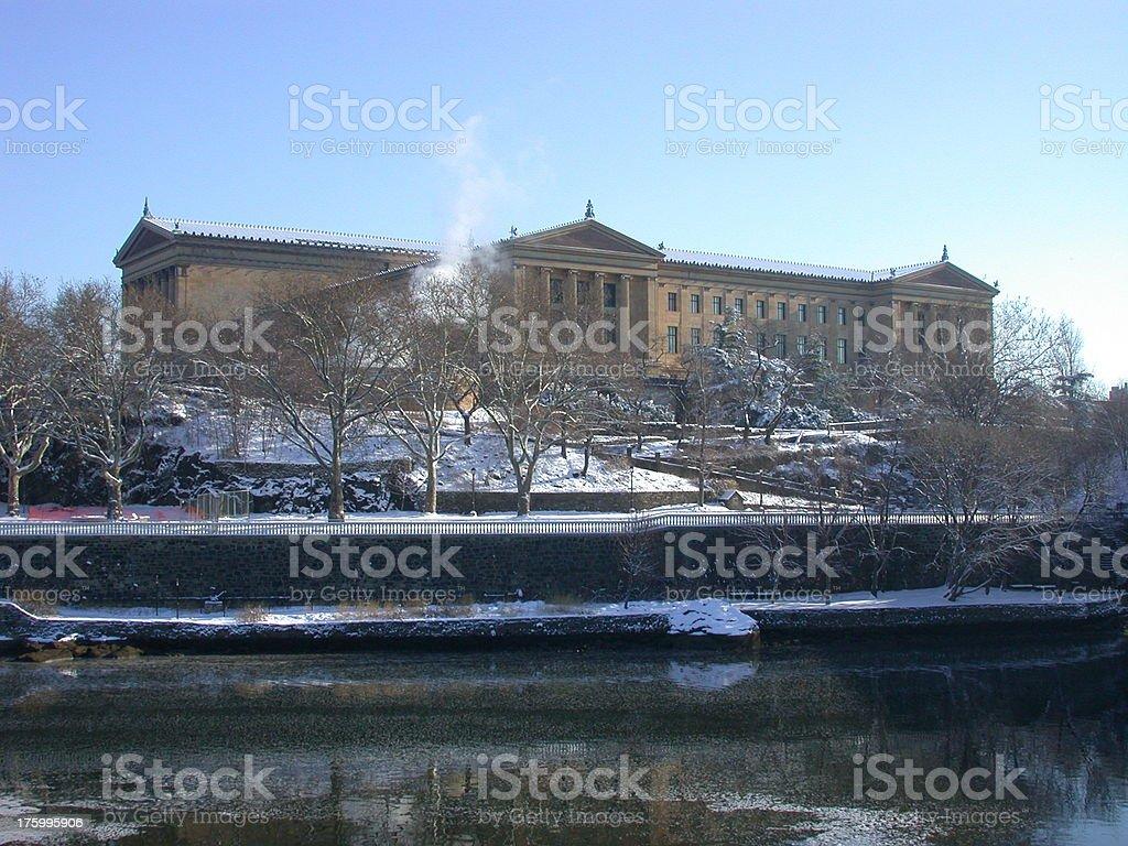 Philadelphia Art Museum royalty-free stock photo
