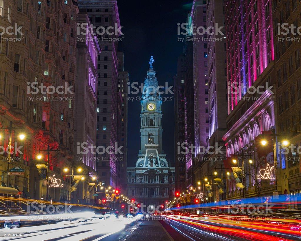 Philadelphia Avenue of the Arts stock photo