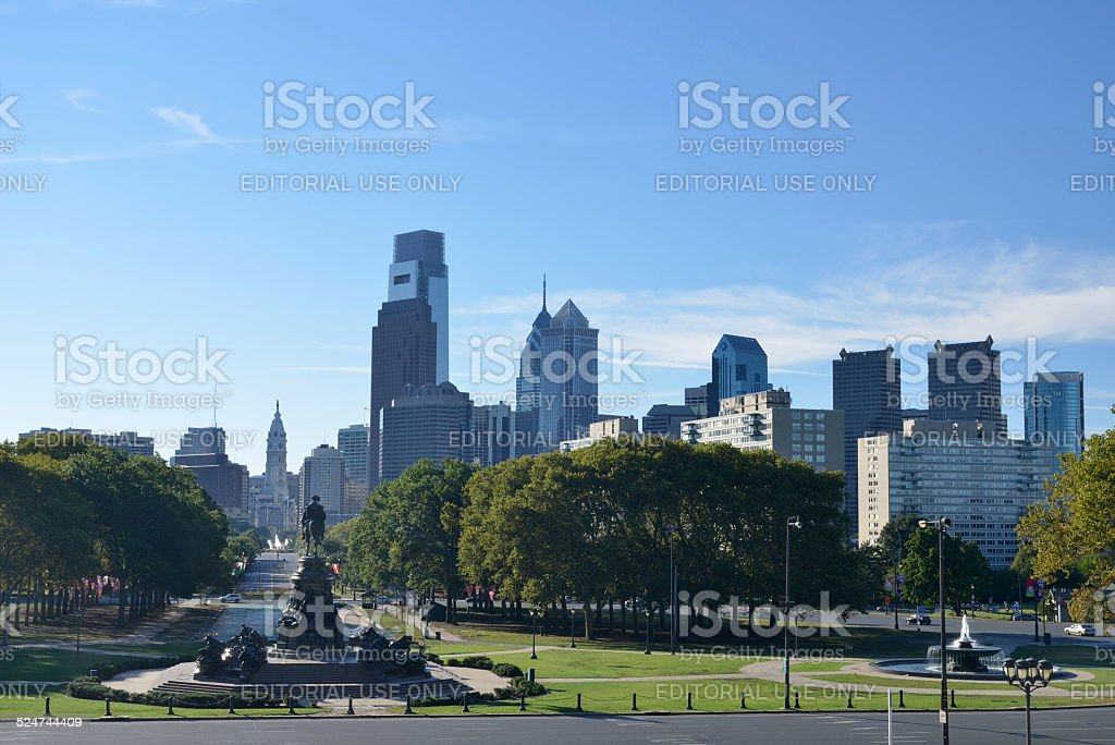 Philadelphia Cityscape stock photo