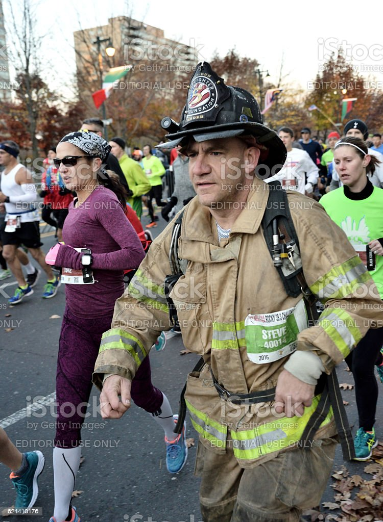 Philadelphia Marathon stock photo