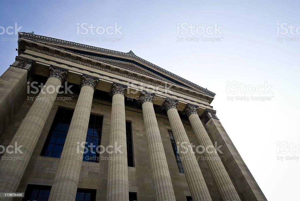 Philadelphia Museum - Architectural Detail royalty-free stock photo