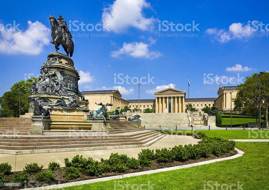 Philadelphia Museum of Art in Pennsylvania stock photo