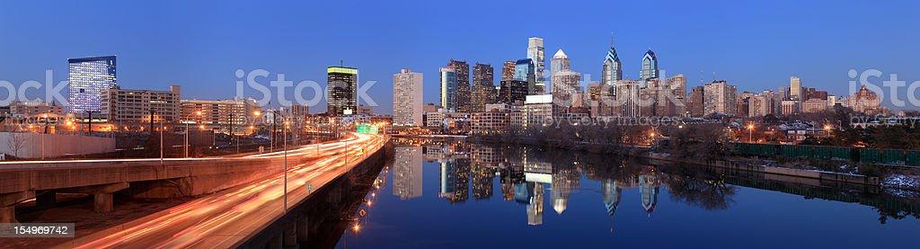 Philadelphia Panorama, Pennsylvania stock photo