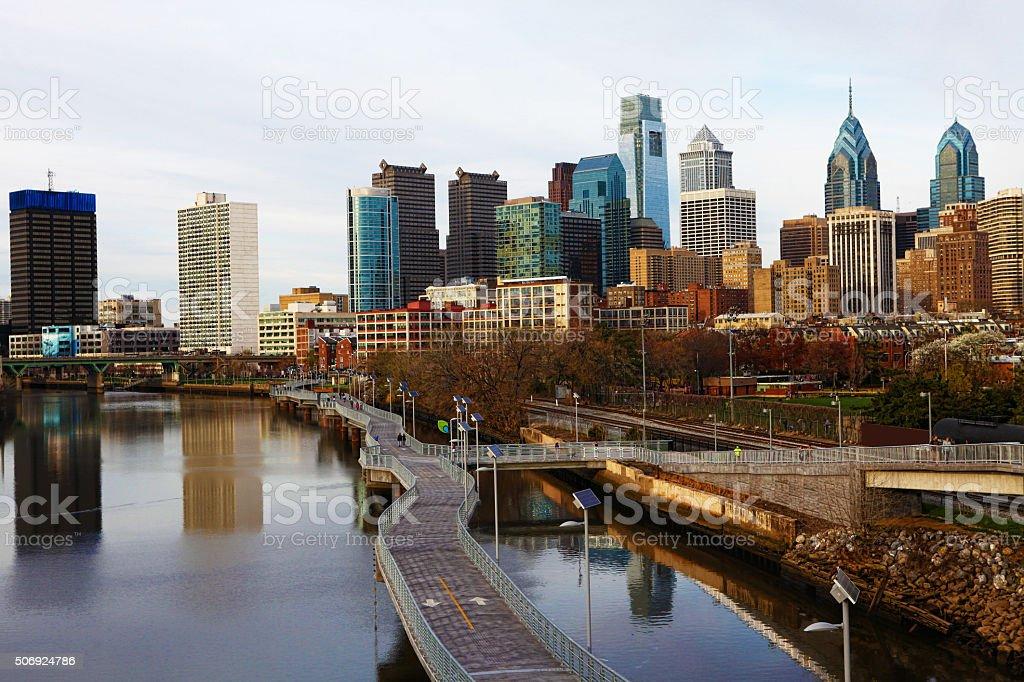Philadelphia, Pennsylvania cityscape stock photo