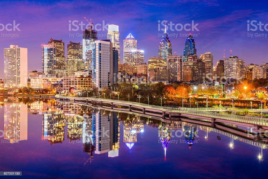 Philadelphia, Pennsylvania Skyline stock photo