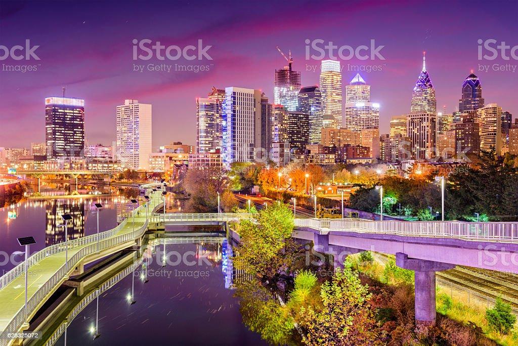 Philadelphia Pennsylvania Skyline stock photo