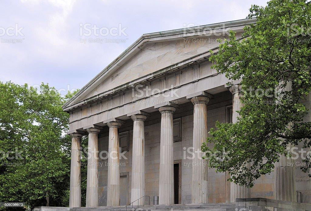 Philadelphia, Pennsylvania, USA: neoclassical facade stock photo