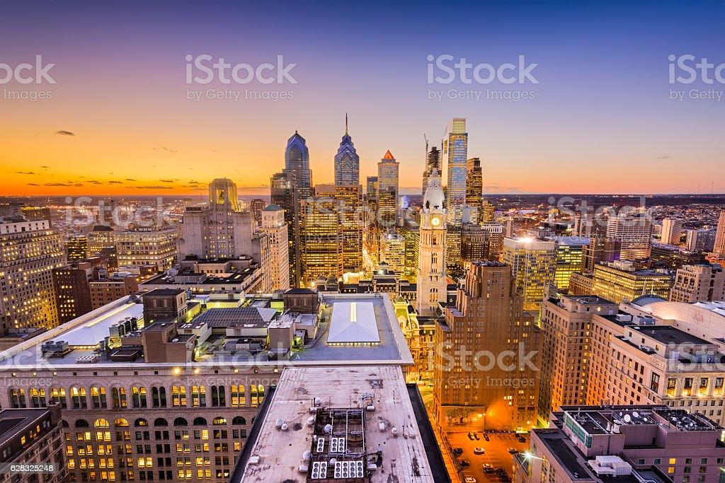 Philadelphia, Pennyslvania Skyline stock photo