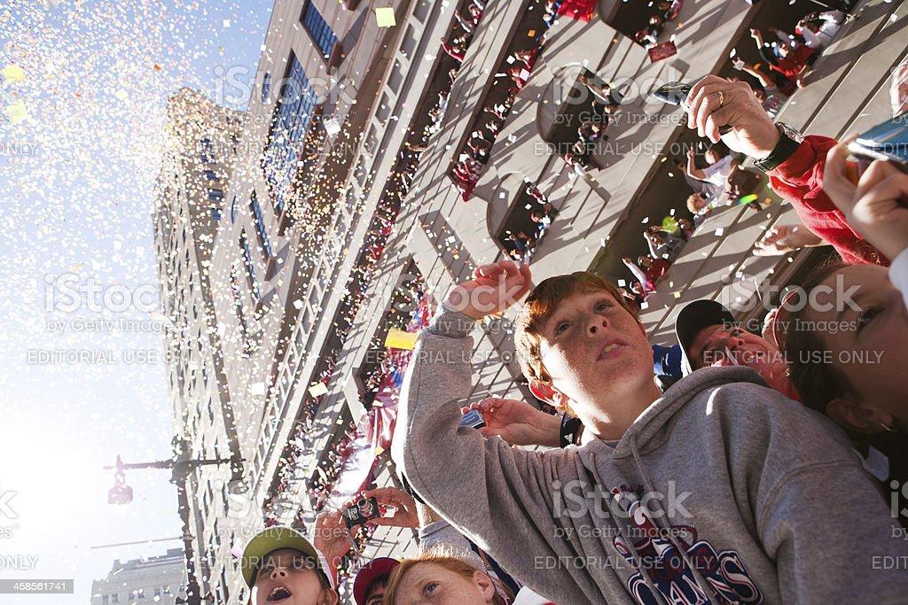 Philadelphia Phillies World Series Parade royalty-free stock photo
