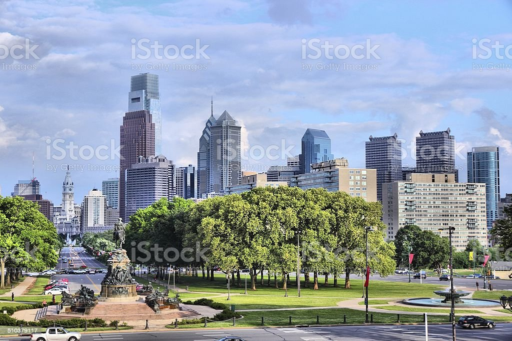 Philadelphia stock photo