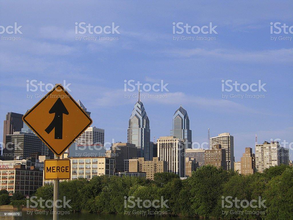 Philadelphia royalty-free stock photo