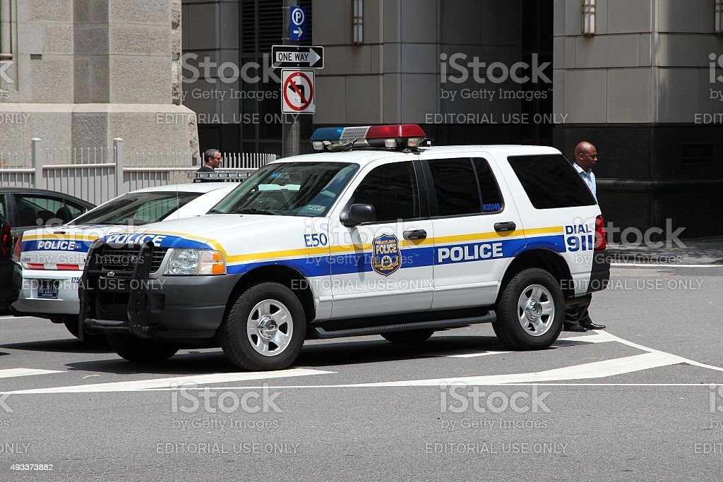Philadelphia Police stock photo