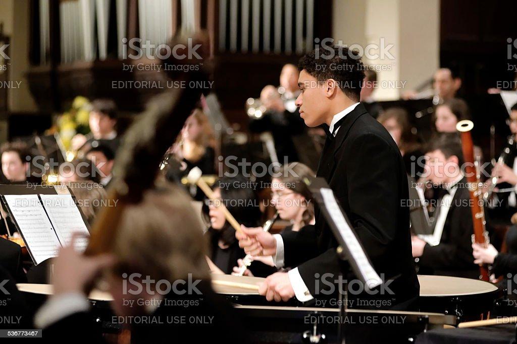 Philadelphia Sinfonia Youth Orchestra stock photo