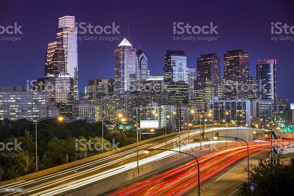 Philadelphia Skyline royalty-free stock photo